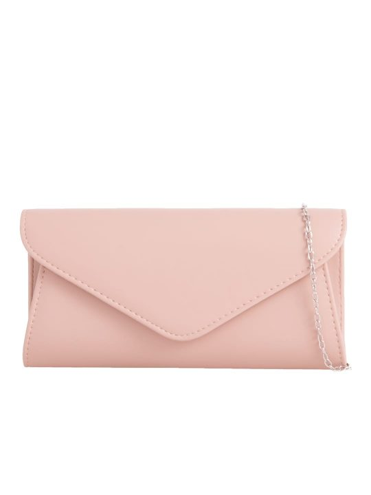 Classic Nude Envelope Clutch