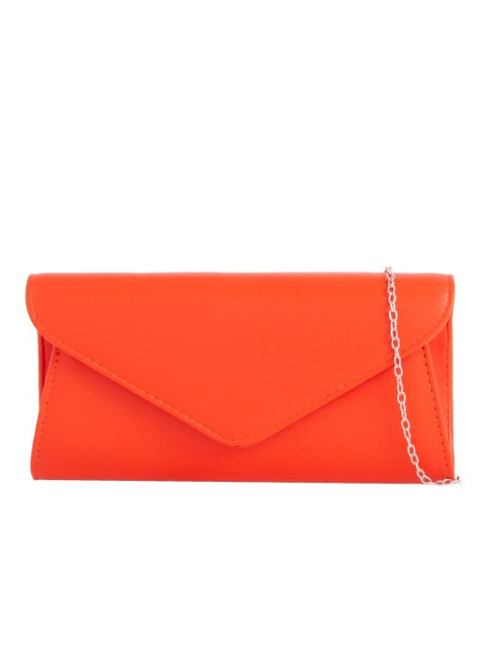 Classic Scarlet Envelope Clutch
