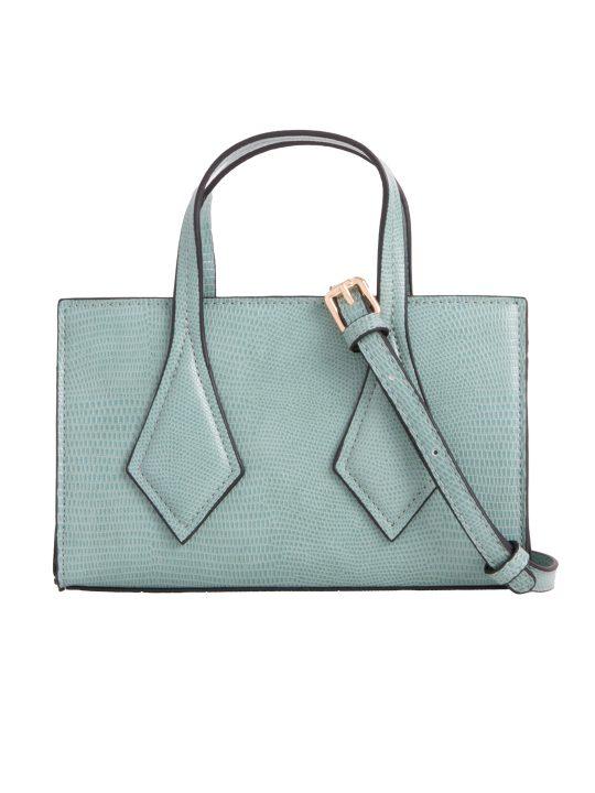 Small Green Patterned Handbag