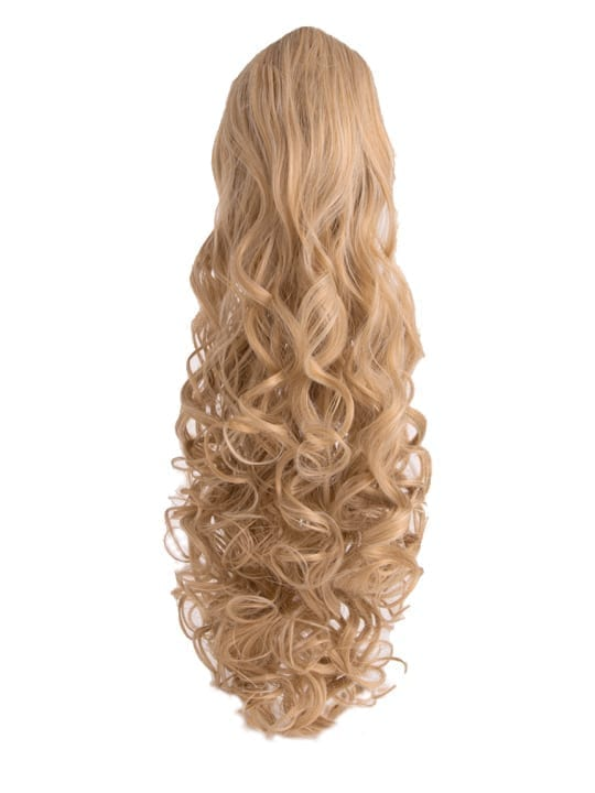 Curly Ponytail in Honey Blonde