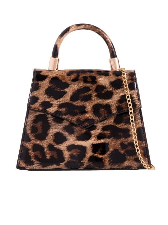 Leopard Crocodile Print Grab Bag