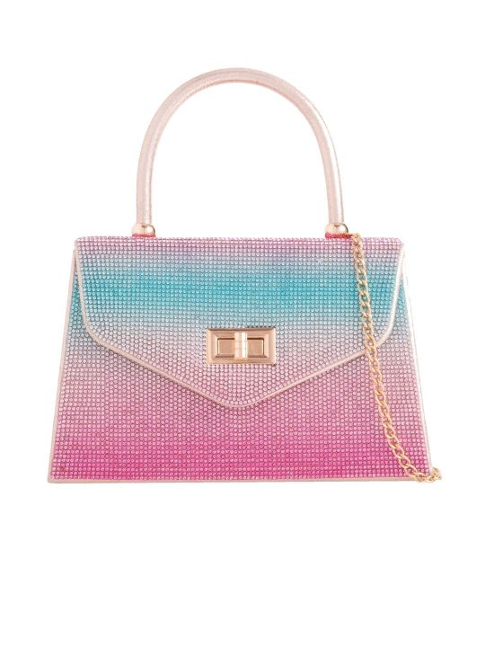 Mermaid Diamante Handbag