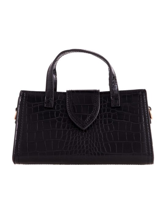 Mini Grab Handbag in Black