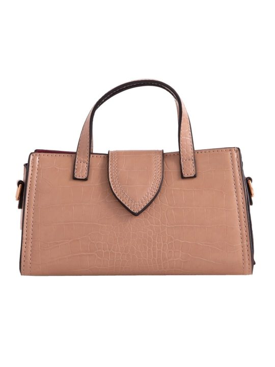 Mini Grab Handbag in Camel