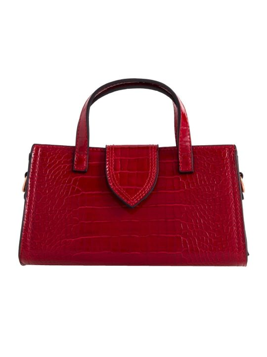 Red Mini Grab Handbag