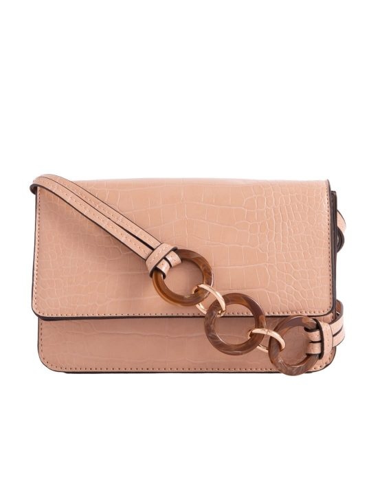Camel Envelope Shoulder Bag