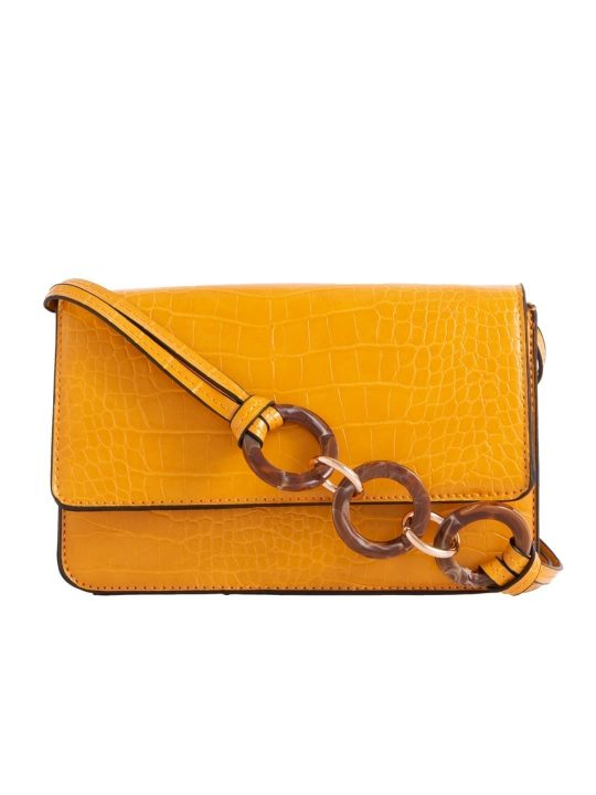Yellow Envelope Shoulder Bag
