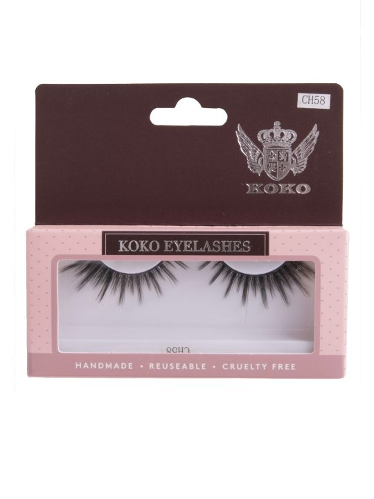 Accenting Faux Mink Strip Lashes