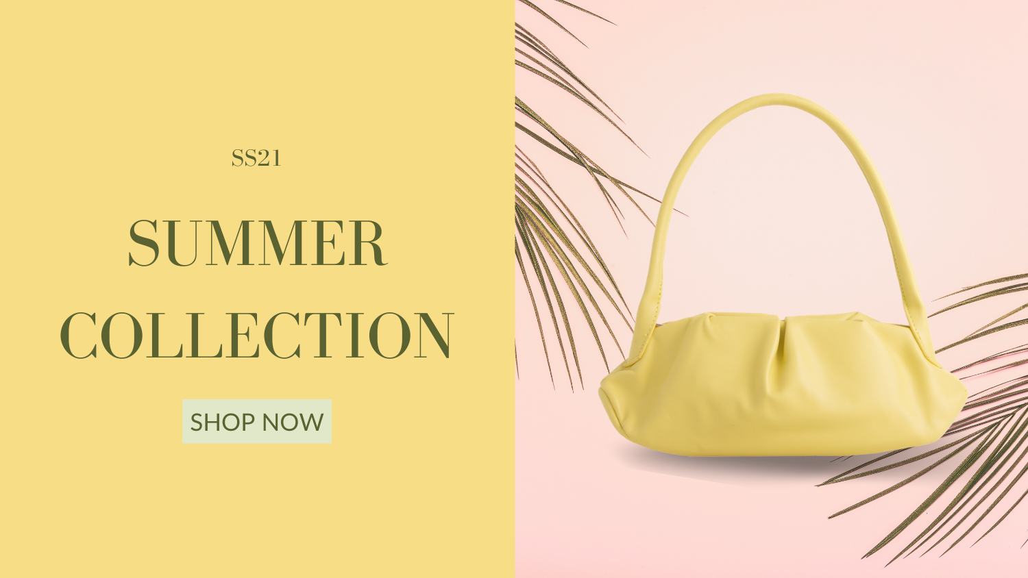 summer collection banner