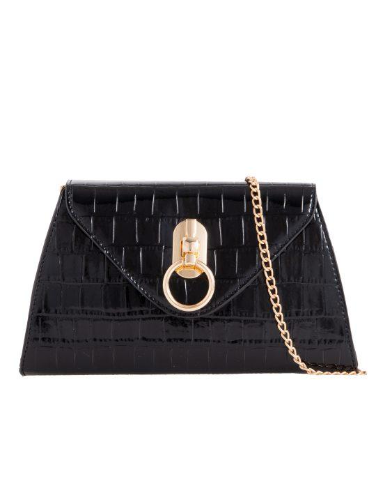 Black Pearl Handle Bag
