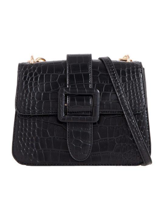 Black Belt Detail Shoulder Bag