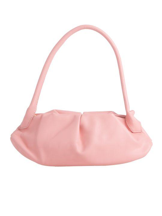 Pink Ruched Handbag