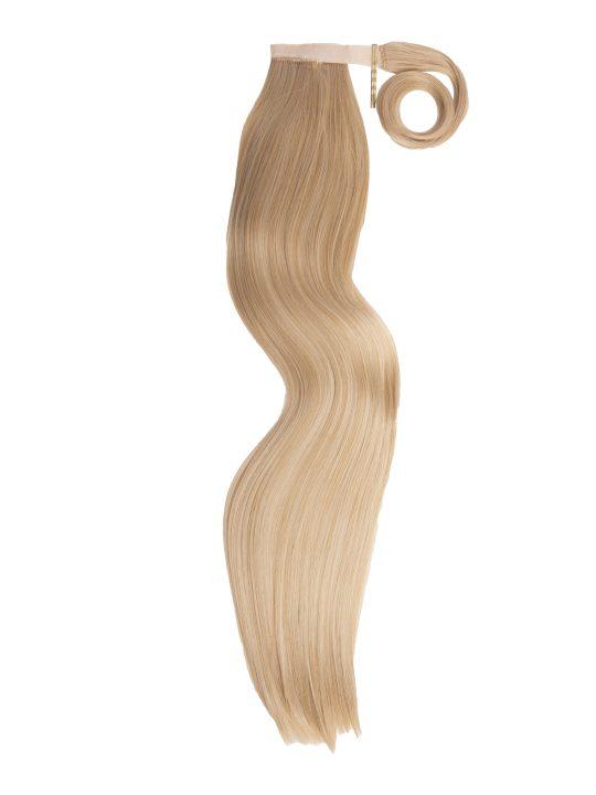 26 Inch Straight Golden Blonde Wraparound Ponytail