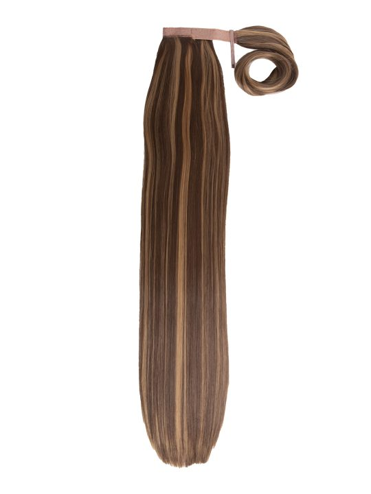 26 Inch Straight Blondette Wraparound Ponytail