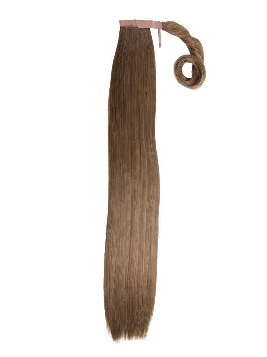 26 Inch Straight Harvest Blonde Wraparound Ponytail