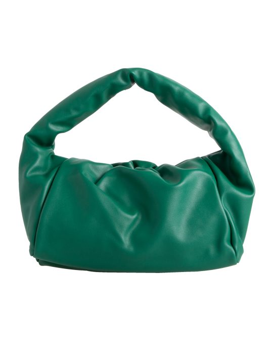 Green Chunky Faux Leather Handbag